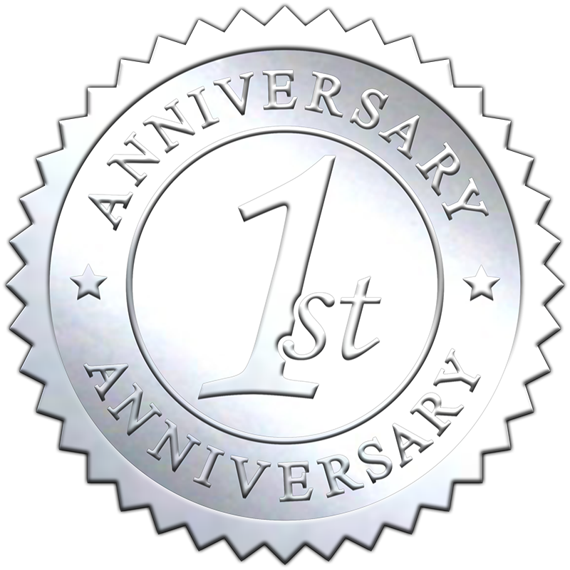 1st-anniversary-embossed-silver-seal-800X800