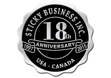 custom sticky business