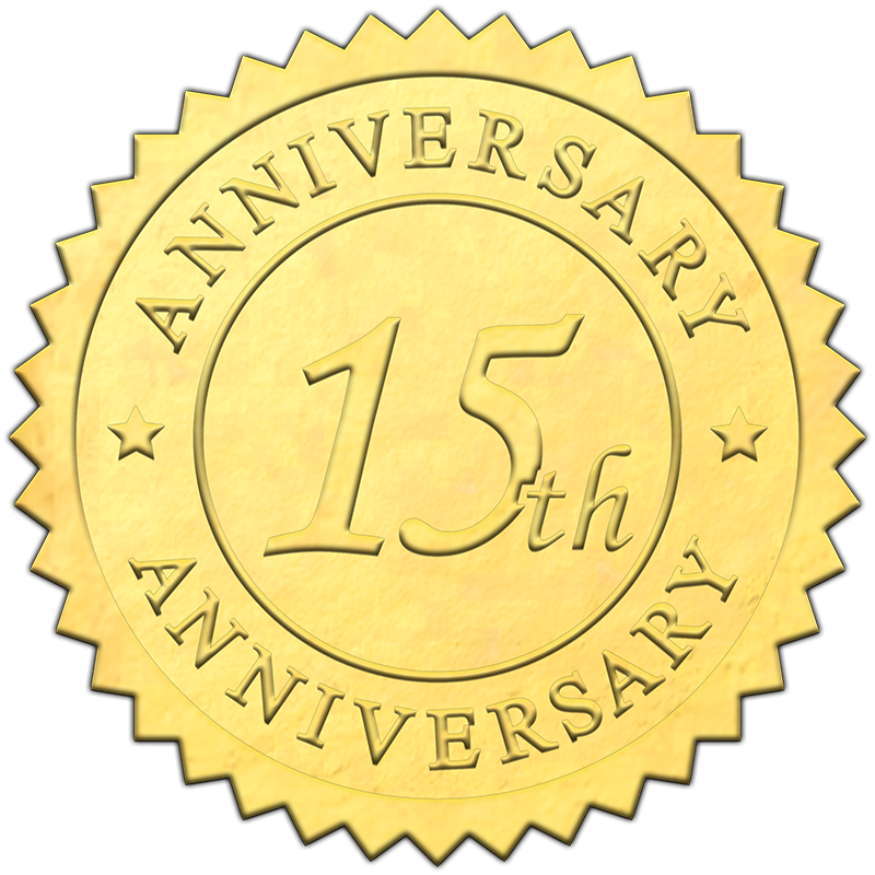 embossed-gold-15th-anniversary-seal-800X800.