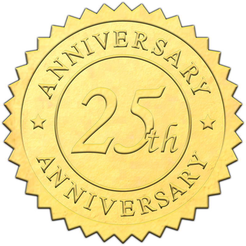 embossed-gold-25th-anniversary-seal-800X800