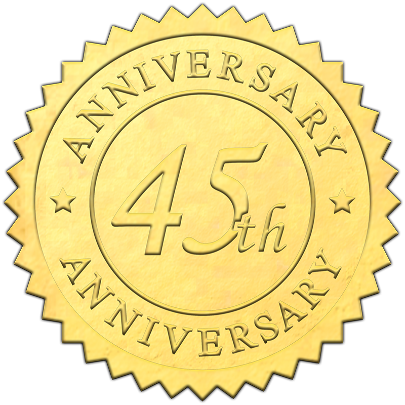 gold-45th-anniversary-embossed-seal-800x800