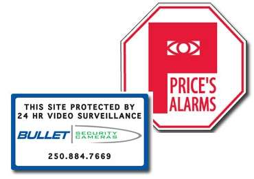 Alarm & Security Decals