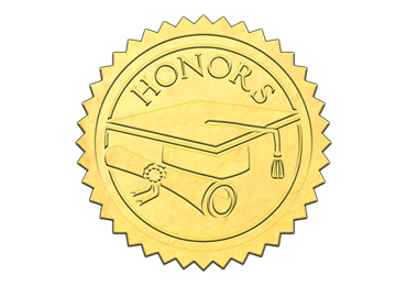 Gold Honors Seal