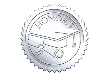 Silver Honors Seal