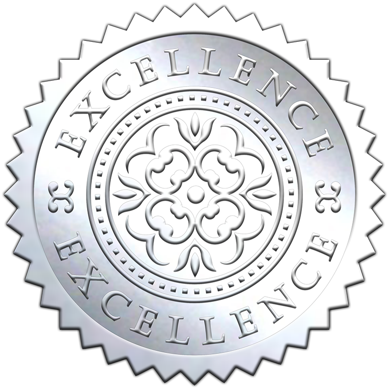 silver-embossed-excellence-seals-800X800