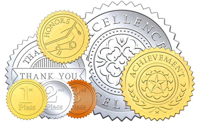 stock-embossed-foil-certificate-seals