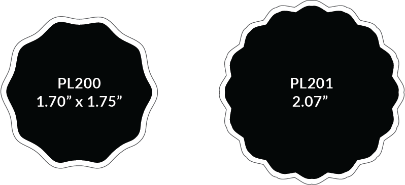 scallop-shape-pewter-labels